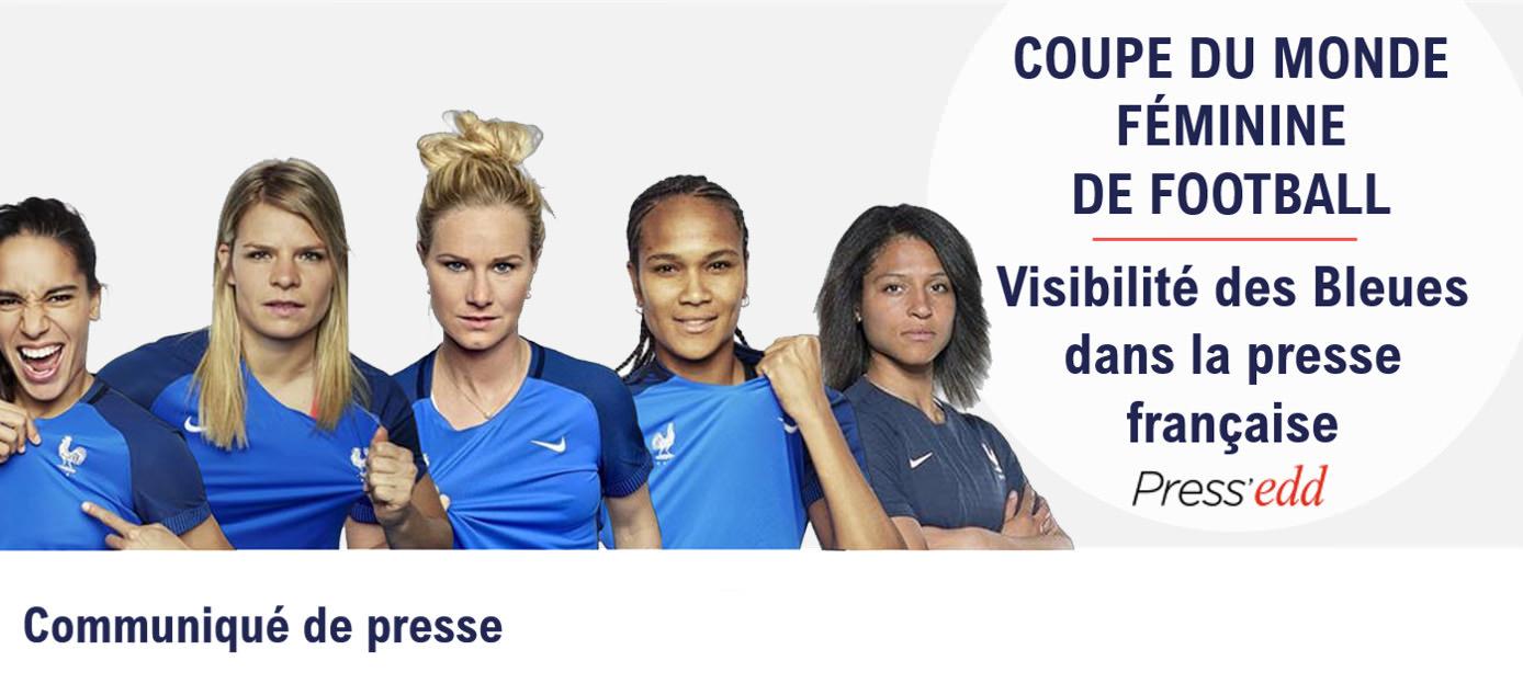 Visibilité dans la presse française : les Bleues se rapprochent des Bleus, le temps de la compétition