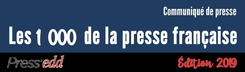 7ème édition du palmarès annuel des personnalités les plus médiatisées dans la presse française